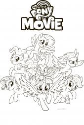 My Little Pony Kolorowanki Do Druku